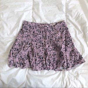 Aritzia Sunday Best mini skirt